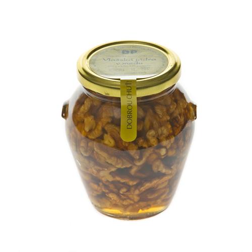 Vlašské jádra v medu 450 g